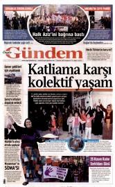 23 Kas�m 2015 Tarihli �zg�r G�ndem Gazetesi