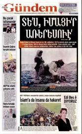 24 Nisan 2015 Tarihli �zg�r G�ndem Gazetesi