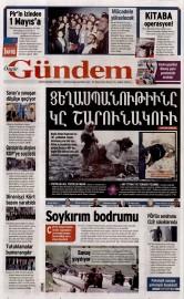 24 Nisan 2016 Tarihli Özgür Gündem Gazetesi