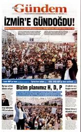 24 May�s 2015 Tarihli �zg�r G�ndem Gazetesi