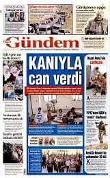24 Ağustos 2014 Tarihli Özgür Gündem Gazetesi