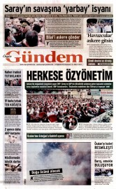24 A�ustos 2015 Tarihli �zg�r G�ndem Gazetesi