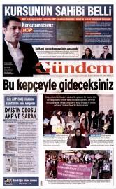 24 Kas�m 2015 Tarihli �zg�r G�ndem Gazetesi