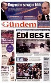 25 Kas�m 2015 Tarihli �zg�r G�ndem Gazetesi