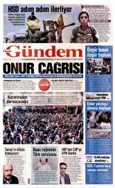 26 Mayıs 2016 Tarihli Özgür Gündem Gazetesi