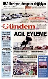 27 Mayıs 2016 Tarihli Özgür Gündem Gazetesi