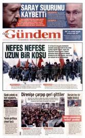 27 Kas�m 2015 Tarihli �zg�r G�ndem Gazetesi