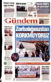 29 Nisan 2016 Tarihli Özgür Gündem Gazetesi