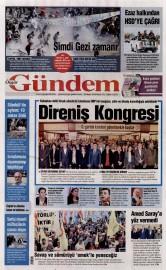 29 Mayıs 2016 Tarihli Özgür Gündem Gazetesi