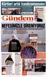 30 Ocak 2016 Tarihli �zg�r G�ndem Gazetesi