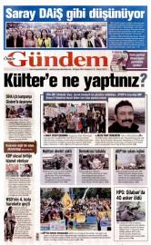 30 Mayıs 2016 Tarihli Özgür Gündem Gazetesi