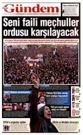 30 Kas�m 2015 Tarihli �zg�r G�ndem Gazetesi
