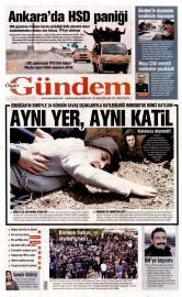 31 Mayıs 2016 Tarihli Özgür Gündem Gazetesi