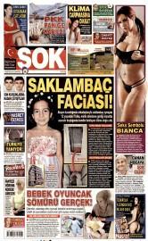 01 A�ustos 2015 Tarihli �ok Gazetesi