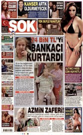 03 A�ustos 2015 Tarihli �ok Gazetesi