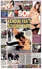 16 Nisan 2015 Tarihli �ok Gazetesi