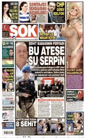 20 A�ustos 2015 Tarihli �ok Gazetesi
