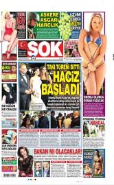 23 A�ustos 2015 Tarihli �ok Gazetesi