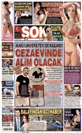 25 A�ustos 2015 Tarihli �ok Gazetesi