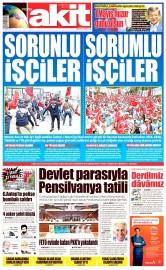 02 Mayıs 2016 Tarihli Yeni Akit Gazetesi