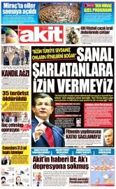 04 Mayıs 2016 Tarihli Yeni Akit Gazetesi