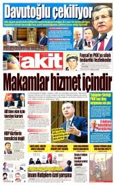 05 Mayıs 2016 Tarihli Yeni Akit Gazetesi