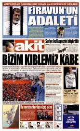 17 May�s 2015 Tarihli Yeni Akit Gazetesi