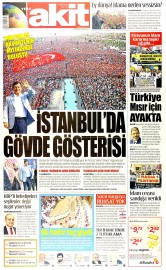 18 May�s 2015 Tarihli Yeni Akit Gazetesi