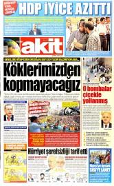 20 May�s 2015 Tarihli Yeni Akit Gazetesi