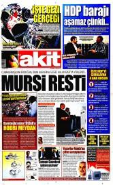 21 May�s 2015 Tarihli Yeni Akit Gazetesi