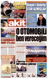 22 May�s 2015 Tarihli Yeni Akit Gazetesi