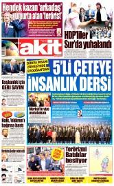 24 Mayıs 2016 Tarihli Yeni Akit Gazetesi