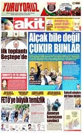 26 Mayıs 2016 Tarihli Yeni Akit Gazetesi
