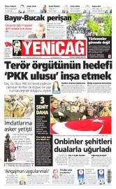 01 �ubat 2016 Tarihli Yeni�a� Gazetesi
