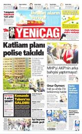 02 Mayıs 2016 Tarihli Yeniçağ Gazetesi