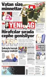 03 �ubat 2016 Tarihli Yeni�a� Gazetesi