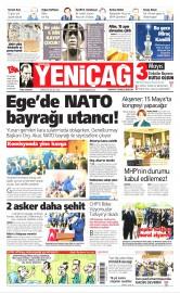 03 Mayıs 2016 Tarihli Yeniçağ Gazetesi