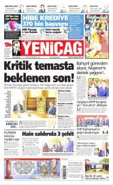 05 Mayıs 2016 Tarihli Yeniçağ Gazetesi