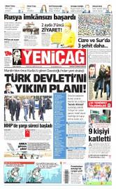 06 �ubat 2016 Tarihli Yeni�a� Gazetesi