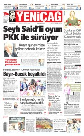 08 �ubat 2016 Tarihli Yeni�a� Gazetesi