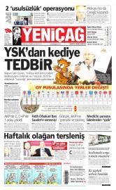 09 Nisan 2015 Tarihli Yeni�a� Gazetesi
