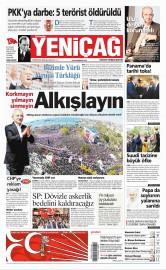 12 Nisan 2015 Tarihli Yeni�a� Gazetesi