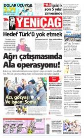 16 Nisan 2015 Tarihli Yeni�a� Gazetesi