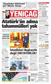 17 Nisan 2015 Tarihli Yeni�a� Gazetesi