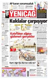 18 Nisan 2015 Tarihli Yeni�a� Gazetesi