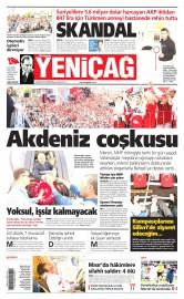 18 May�s 2015 Tarihli Yeni�a� Gazetesi