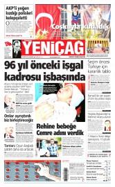 20 May�s 2015 Tarihli Yeni�a� Gazetesi