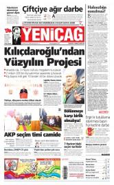 22 May�s 2015 Tarihli Yeni�a� Gazetesi