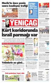 22 Haziran 2015 Tarihli Yeni�a� Gazetesi