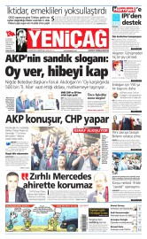 23 May�s 2015 Tarihli Yeni�a� Gazetesi